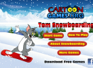 Game Tom And Jerry Trượt Tuyết