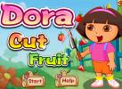 Game Dora Chém Trái Cây