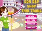 Game Dọn Dẹp Shop Thời Trang