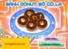 Game Bánh Donut Socola