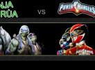 Game Ninja Rùa VS Siêu Nhân