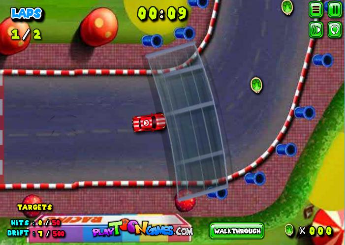 Chơi game mario điều khiển xe đua