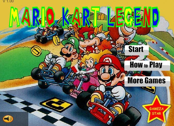 Huyền thoại xe Kart Mario