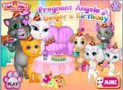 Game Sinh nhật mèo Ginger