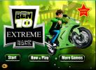 Game Ben 10 đua xe tốc độ