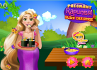 Game Rapunzel làm sushi