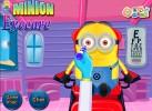 Game Khám mắt cho Minion tập làm bác sĩ