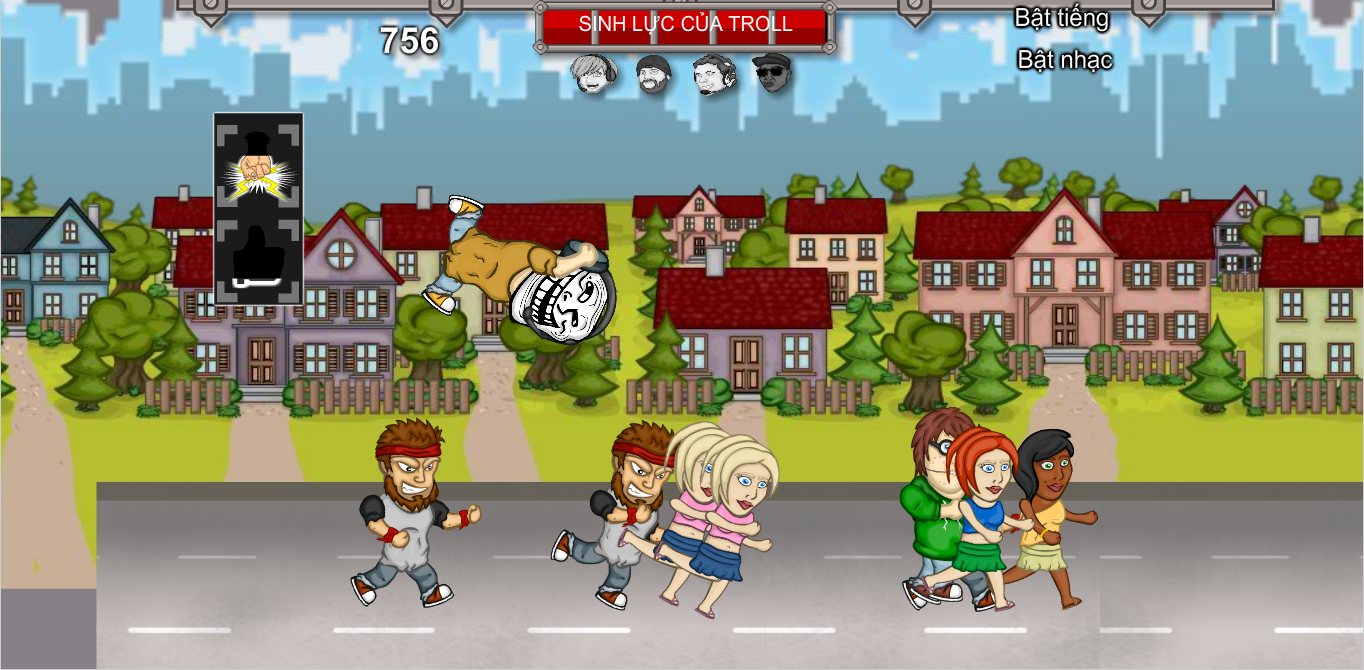 Game Trả thù thánh troll cực kỳ vui nhộn