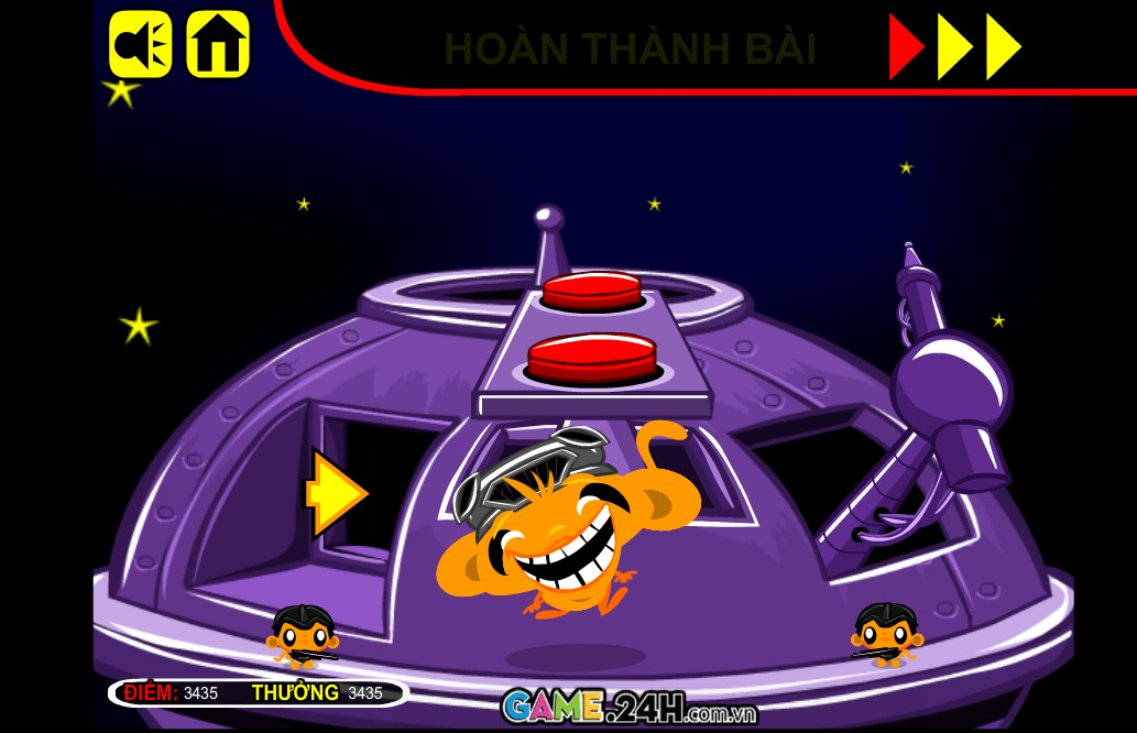 Chơi Game Chú khỉ buồn 25