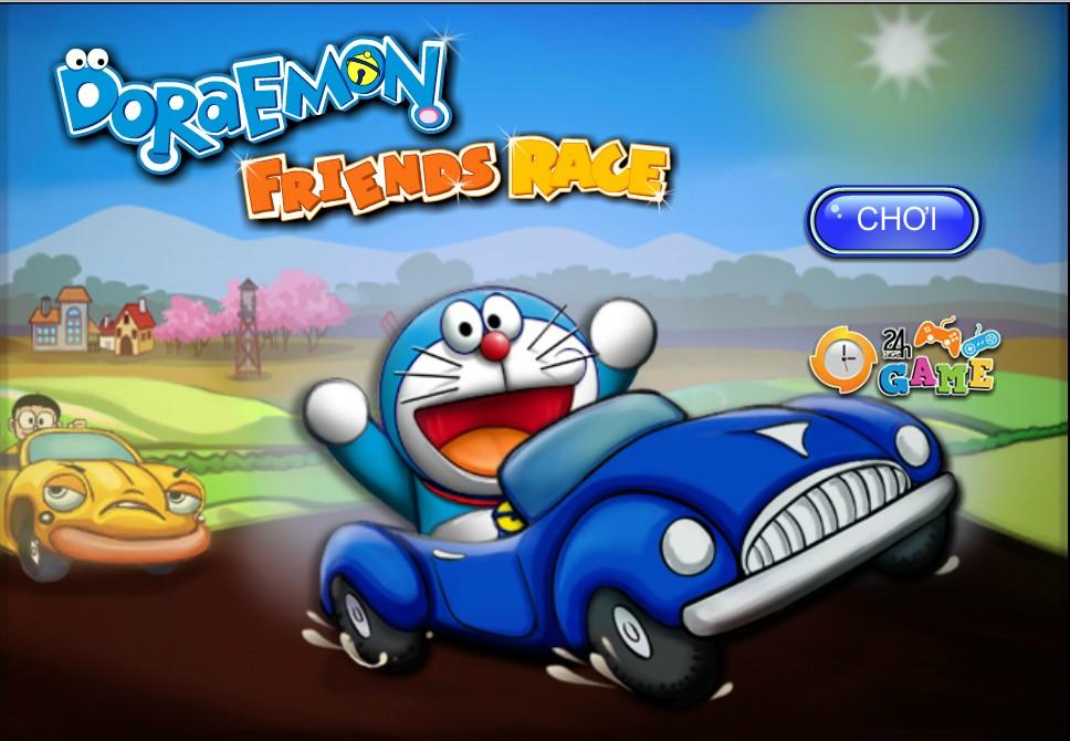Game Doremon đua ô tô