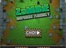 Game Phòng tuyến Zombie 2 chiến thuật phòng thủ