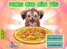 Game Pizza cho cún cưng vui vẻ dễ chơi