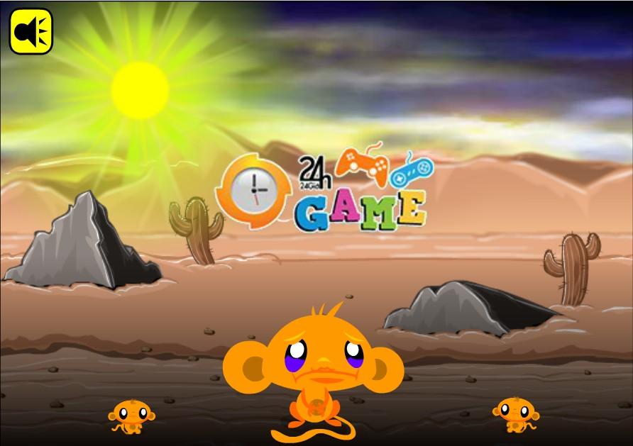Game Chú khỉ buồn 28