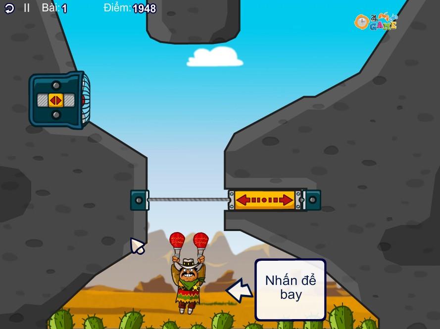 chơi Game Người Mexico bay 2