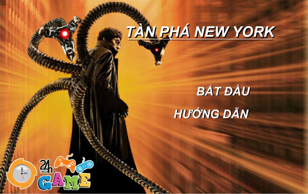 Chơi Game Tàn phá New York