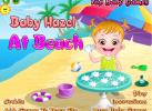 Game Bé đi tắm biển
