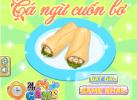 Game Cá ngừ cuốn bơ